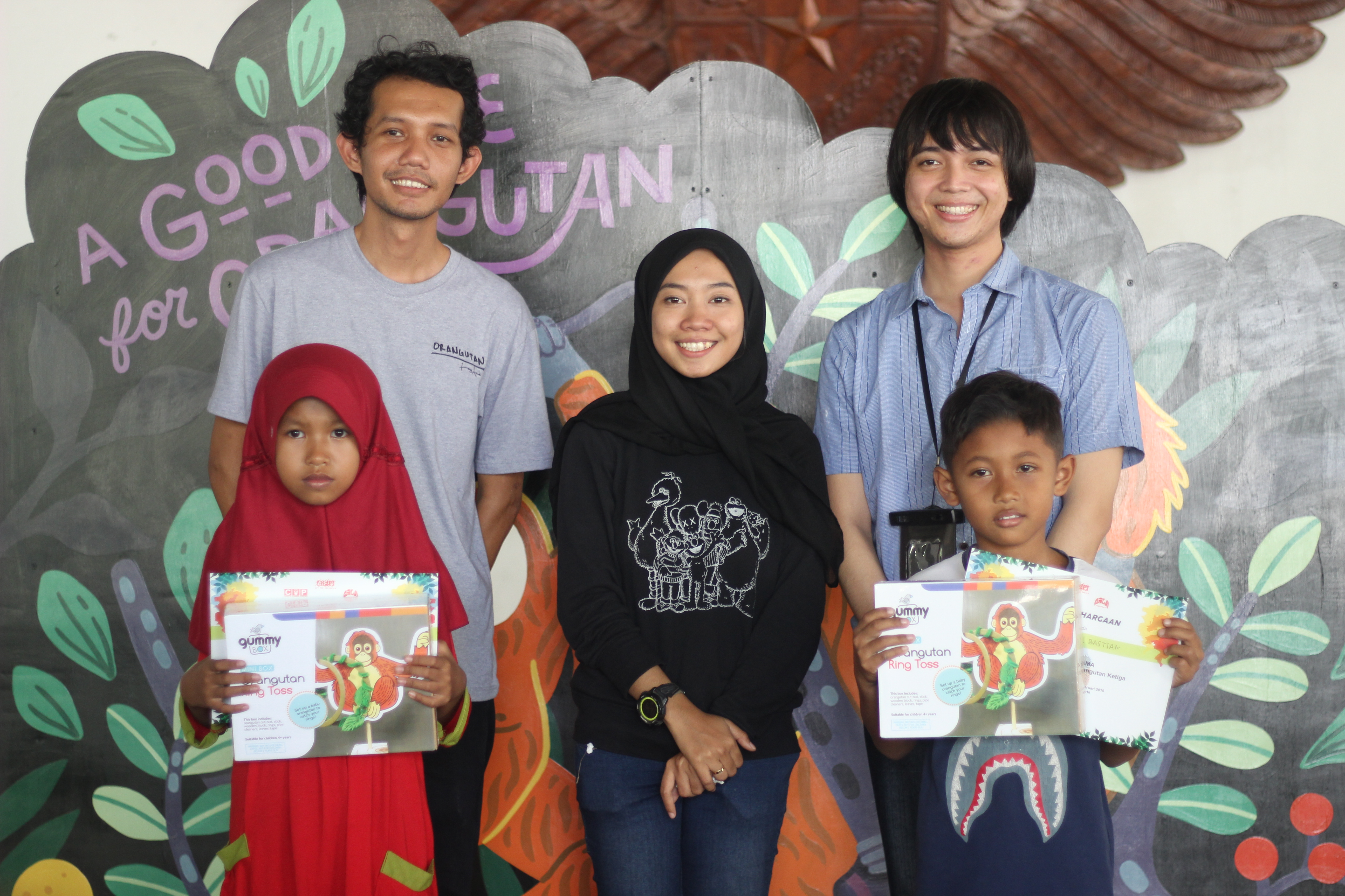 CHILDREN COLORING AND DRAWING PETITION FOR INDONESIAN
